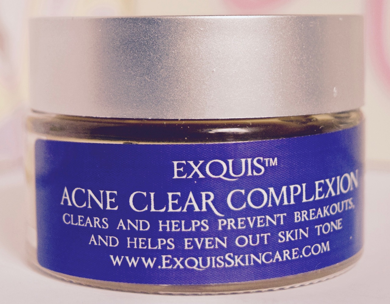 Acne clear complexion.